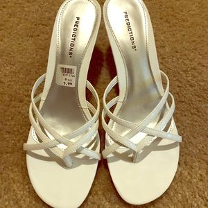 White Sandal with Small heel